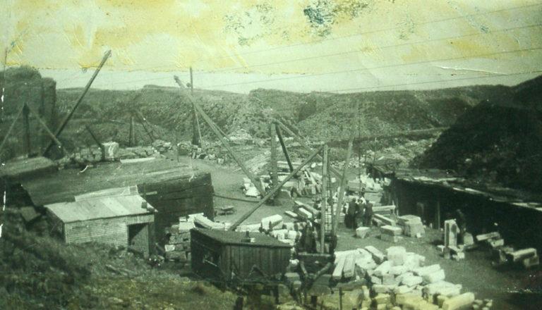 Quarry W Cranes