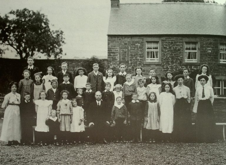 School Class Photo Lazonby C 1920
