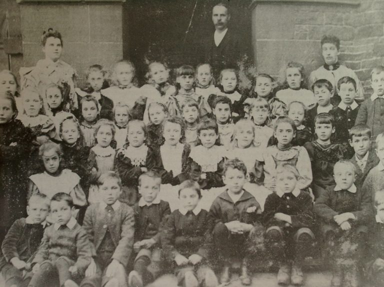 School Class Photo Lazonby C1900