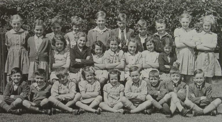 School Class Photograph 1940s