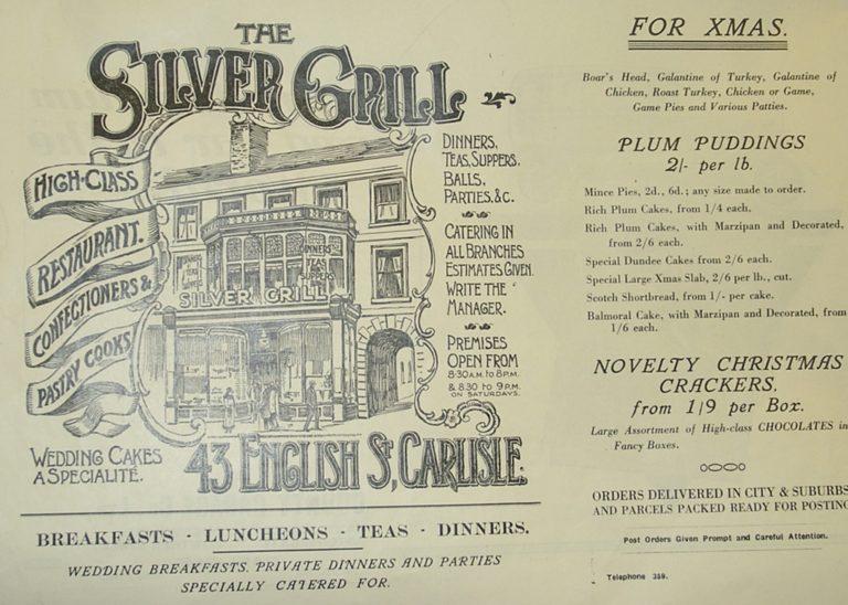 Silver Grill Shop Ad
