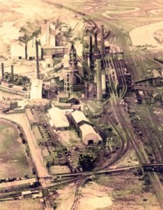 Steel Works Aerial View