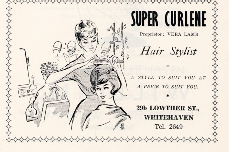 Super Curlene Hairdresser Advert 1963