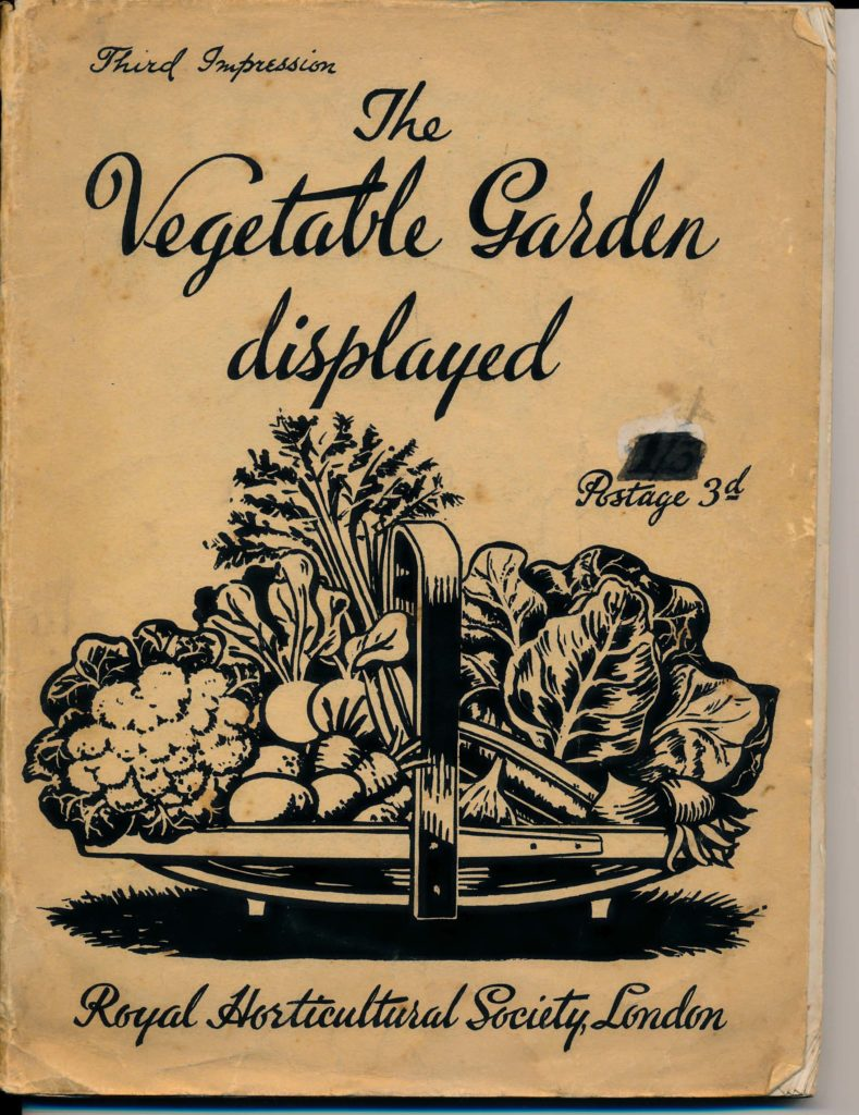 The Vegetable Garden Displayed RHS 1942 Page 01 1