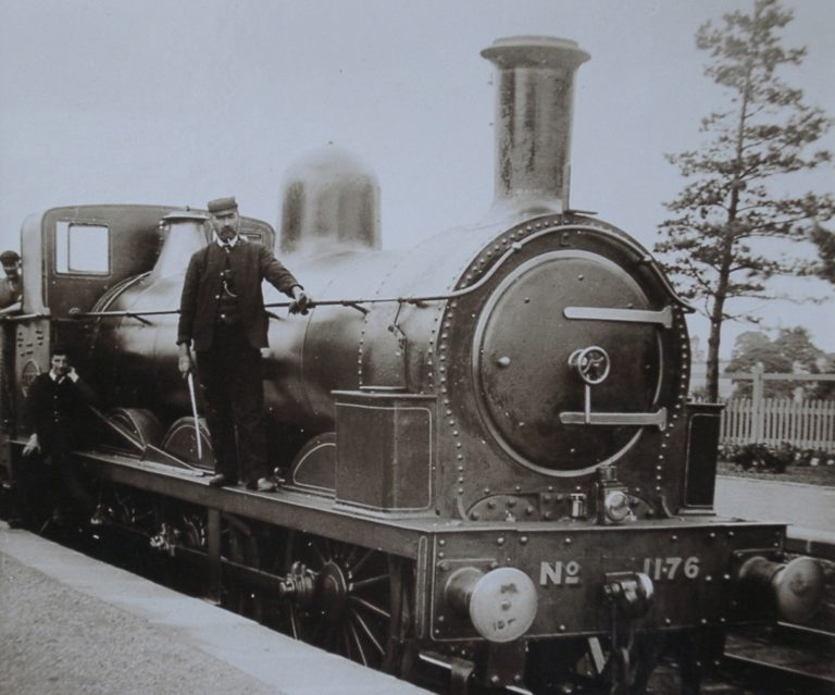 Train Steam Engine 01