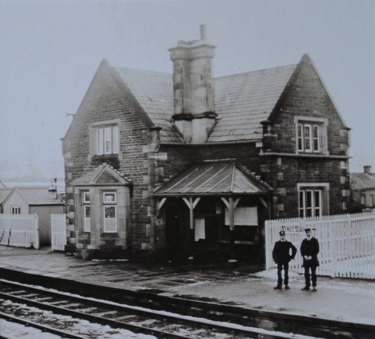 Train Station Staff On Platform