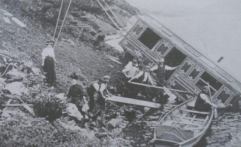 Train Steam Engine Crashed In Thirlmere 1908