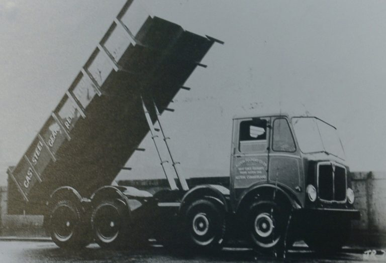 Truck AEC Tipping Foundry 1956