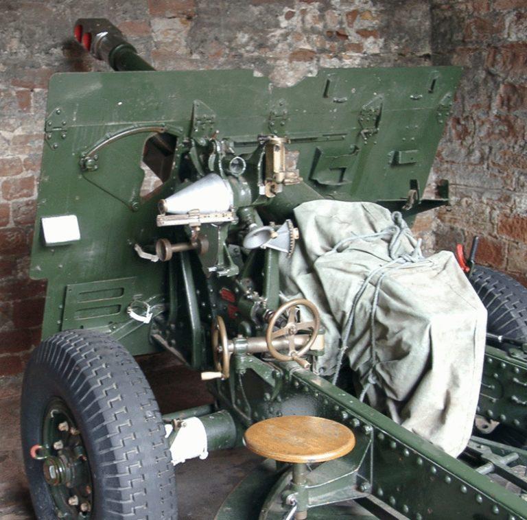 War Field Gun Close Rear