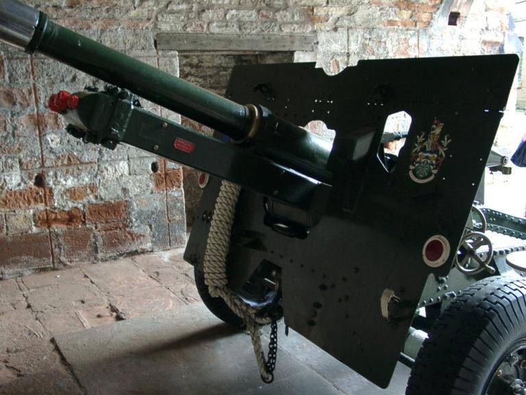 War Field Gun Front