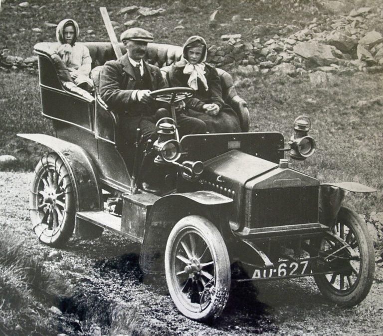 Car Rough Track 1910s