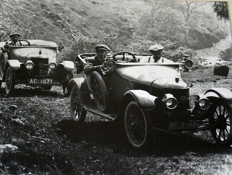 Cars Hardnott Rough Track