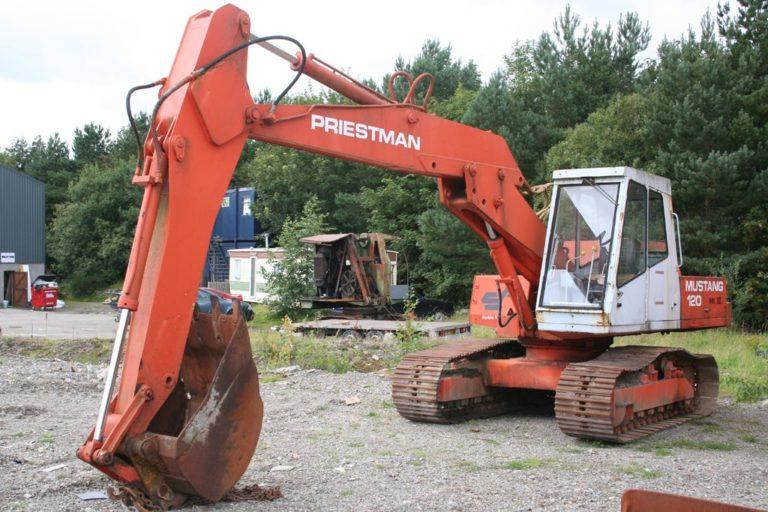 excavator hydraulic Threlkeld Quarry